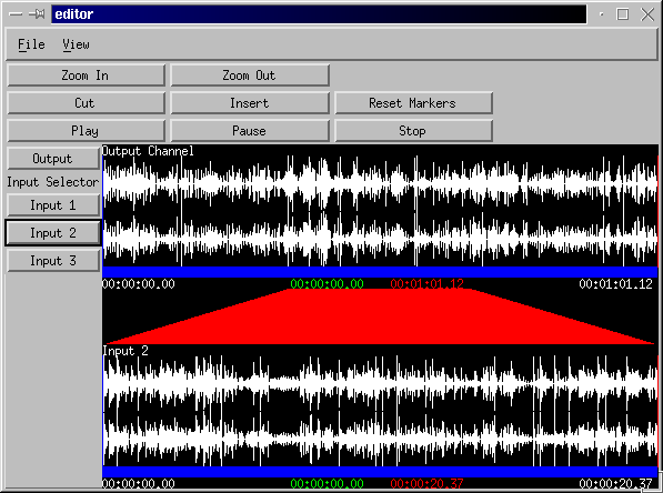 Open Source Audio Library Project Editor